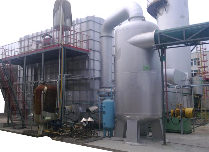 工业固废焚烧炉集中处理系统特点